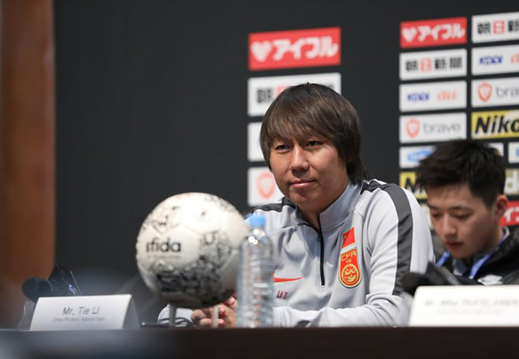 The coach of the Chinese team admits that he was lucky to win over Vietnam thanks to the