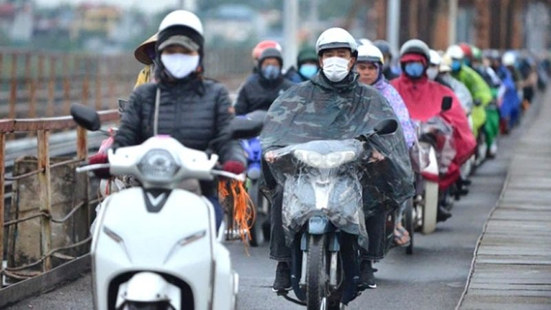 Today's weather forecast October 15: Cold air intensifies, the North cools down by 1