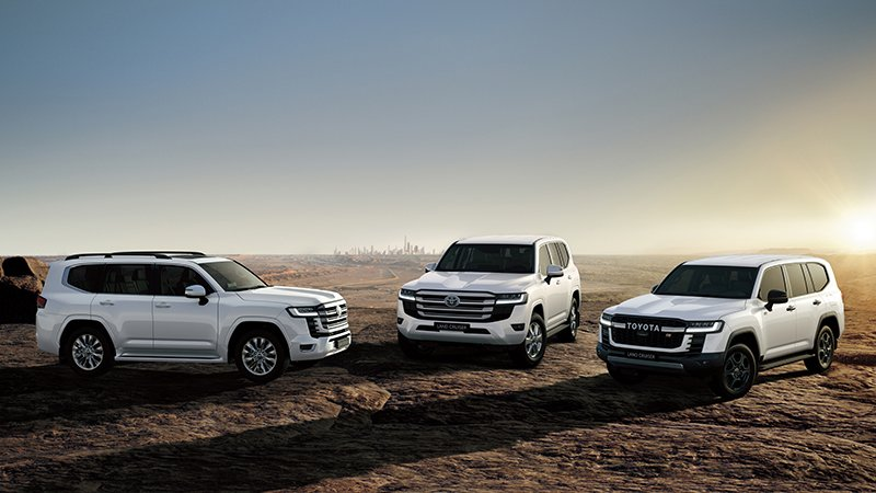 Toyota Land Cruiser MBS 2022 invites Vietnamese guests with a series of first-class equipment