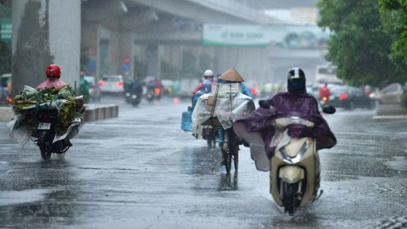 Weather forecast 11/10: Heavy rain across the country, northeast monsoon level 2-3 1